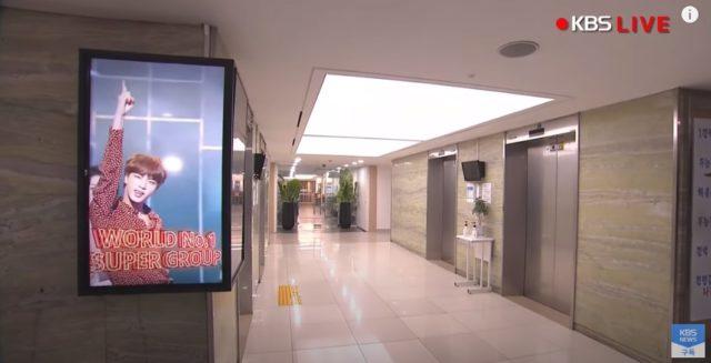 KBS社内LED