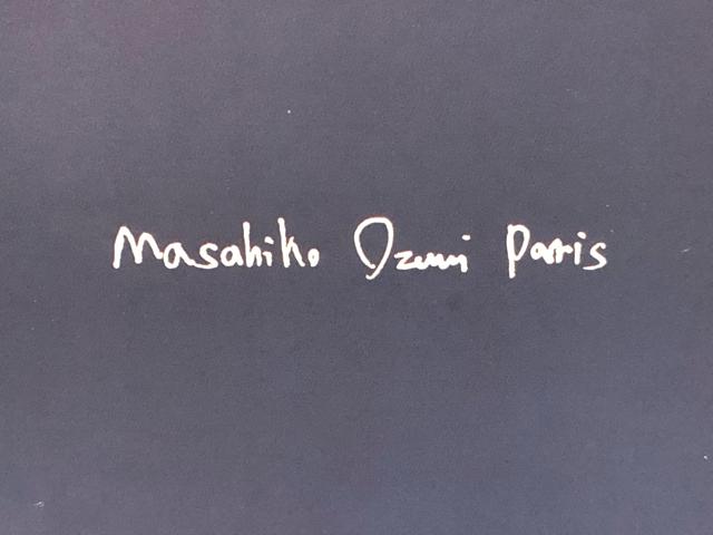 マサヒコオズミパリロゴ