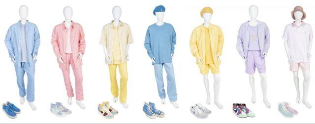 BTS ダイナマイト衣装