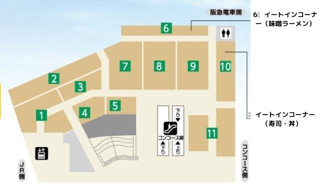 北海道展フロアマップ