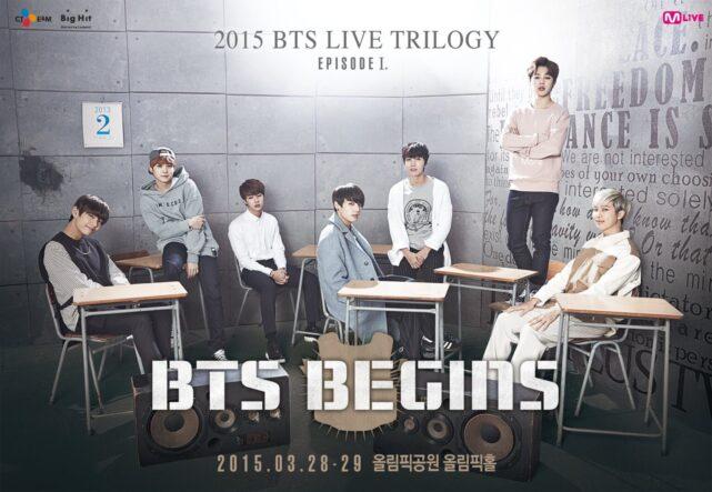 BTS LIVE TRILOGY I begins