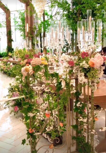 Flower full hall
