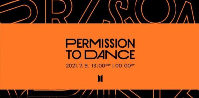 Permission to DANCEメッセージ